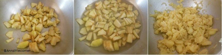 How to make Apple Halwa - Step 2