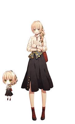 """Anunciada adaptación anime del juego para smartphones """"Library Cross Infinite"""" de Otomate"""