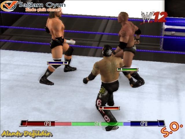 WWE RAW Ultimate Impact 2009 Full Tek Link İndir   Full Oyun İndir