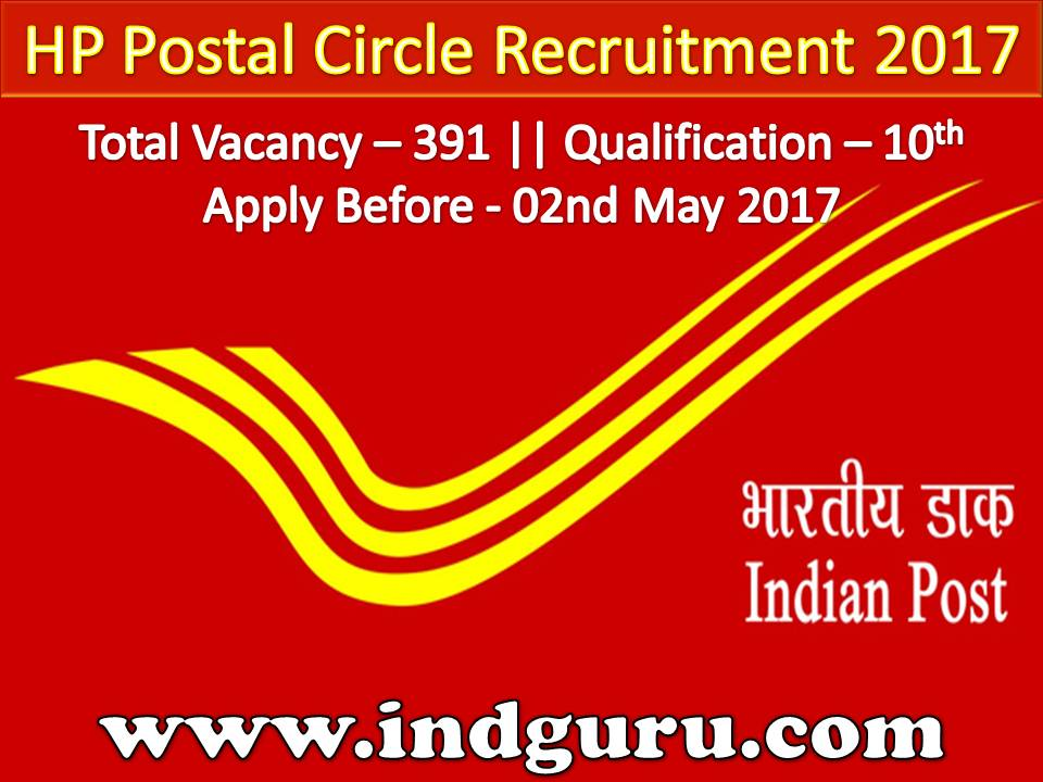 HP Postal Circle Recruitment