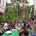 Warga Dusun Jabon dan Tulungrejo Adakan Syukuran Di Jalan Brawijaya