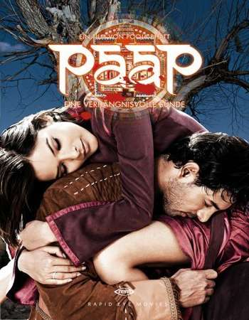 Poster Of Paap 2003 Hindi 350MB DVDRip 480p ESubs Free Download Watch Online