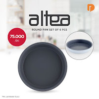 Dusdusan Altea Round Pan Set (Set of 6) ANDHIMIND