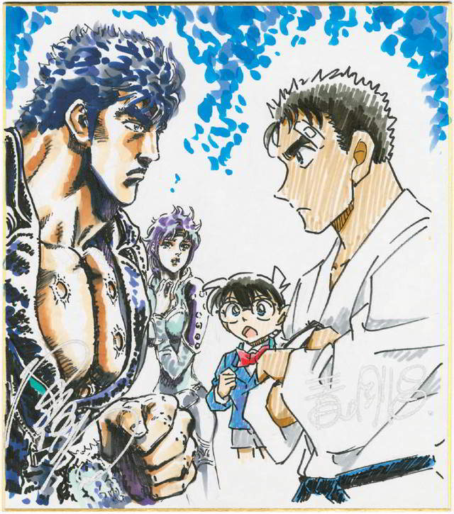 Conan × Fist of the North Star