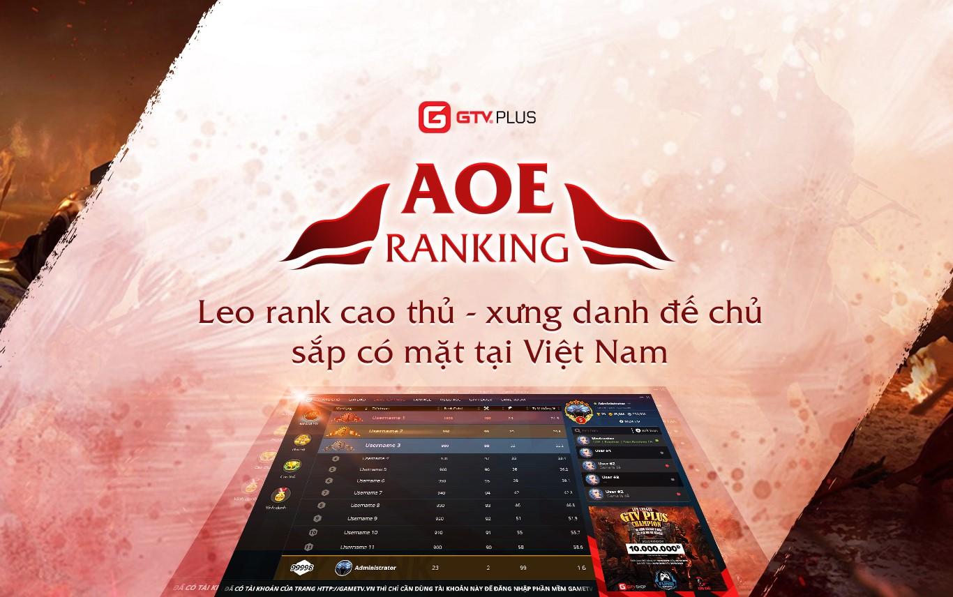 Tính năng Ranking AoE: Một cuộc cách mạng trong việc phát triển AoE chuyên nghiệp?