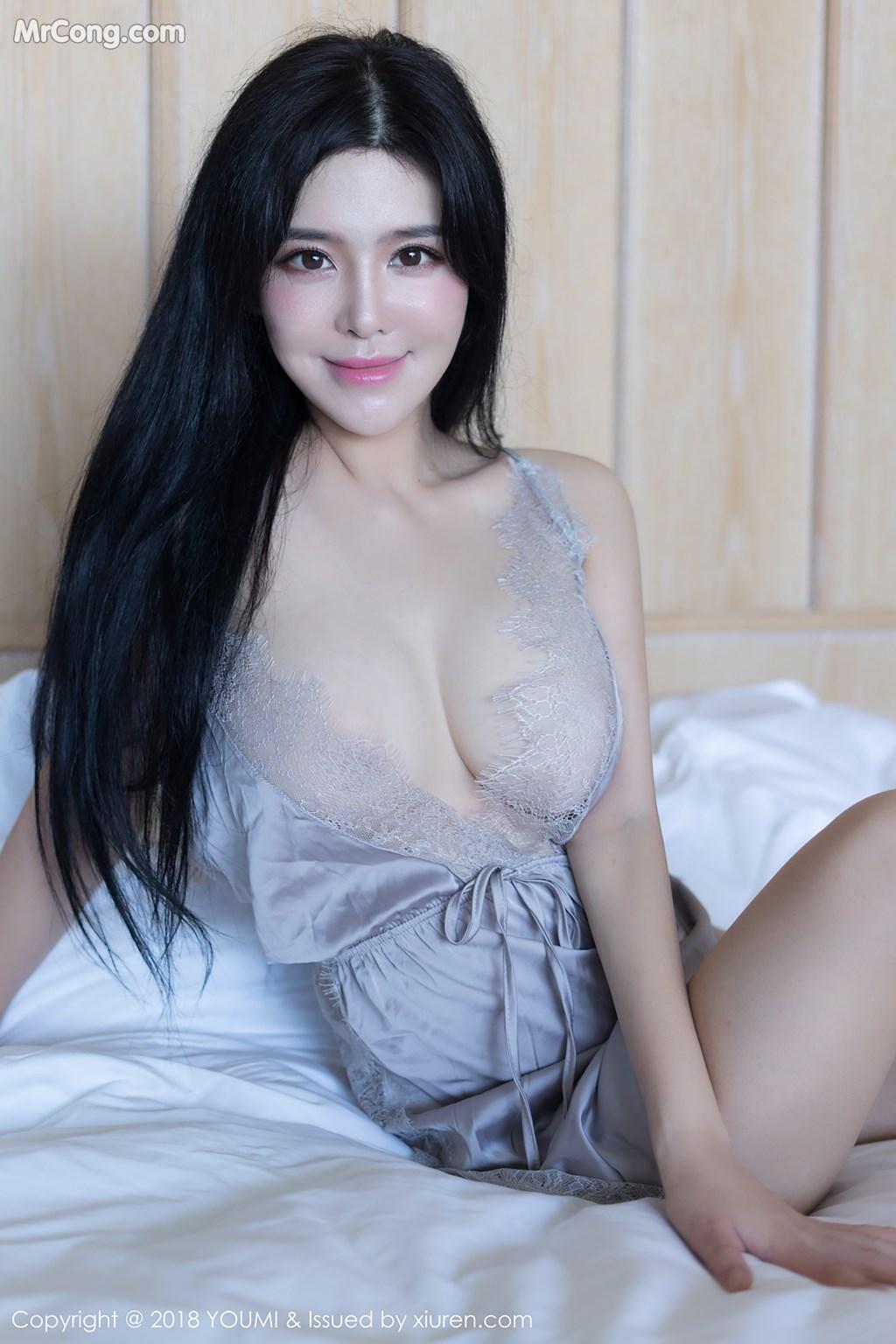 Image YouMi-Vol.227-Liu-Yu-Er-MrCong.com-007 in post YouMi Vol.227: Người mẫu Liu Yu Er (刘钰儿) (44 ảnh)