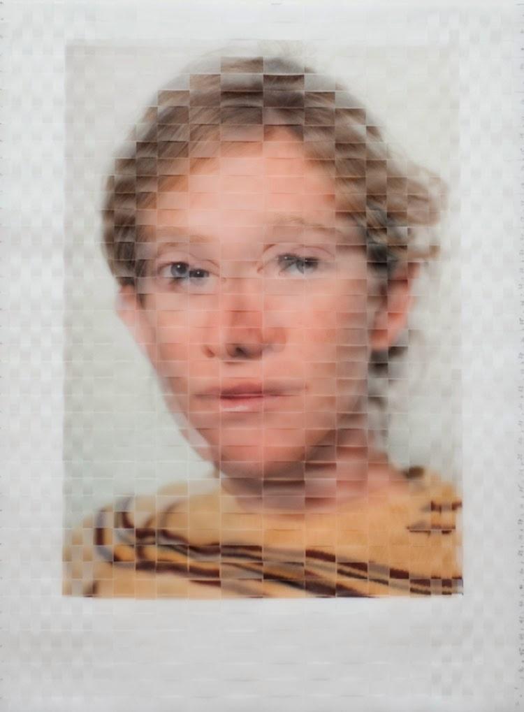 Woven Portraits - Fotografías con una increíble textura de tejido