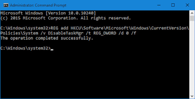 mengatasi Task Manager has been disabled by your administrator-gambar3
