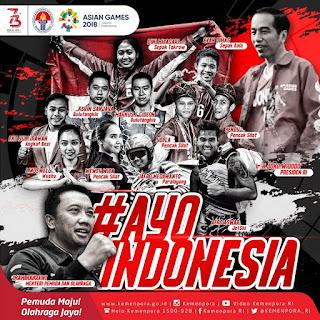 Dukungan Bagi Atlet Indonesia