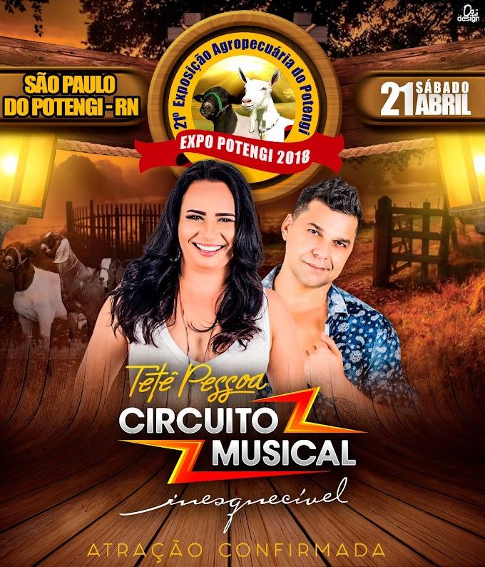 Circuito Músical é uma das atrações da 21° Expo Potengi
