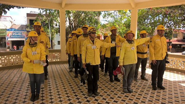 Resultado de imagem para brigada de combate a incendios taquaritinga