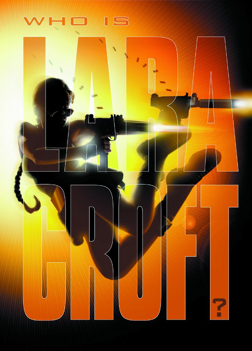 Maxraider Original Tomb Raider Movie Poster