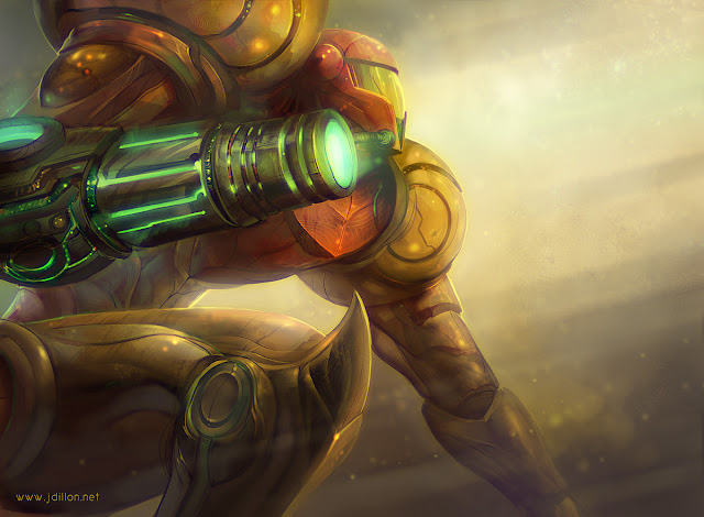 Metroid Samus Aran wallpaper hd
