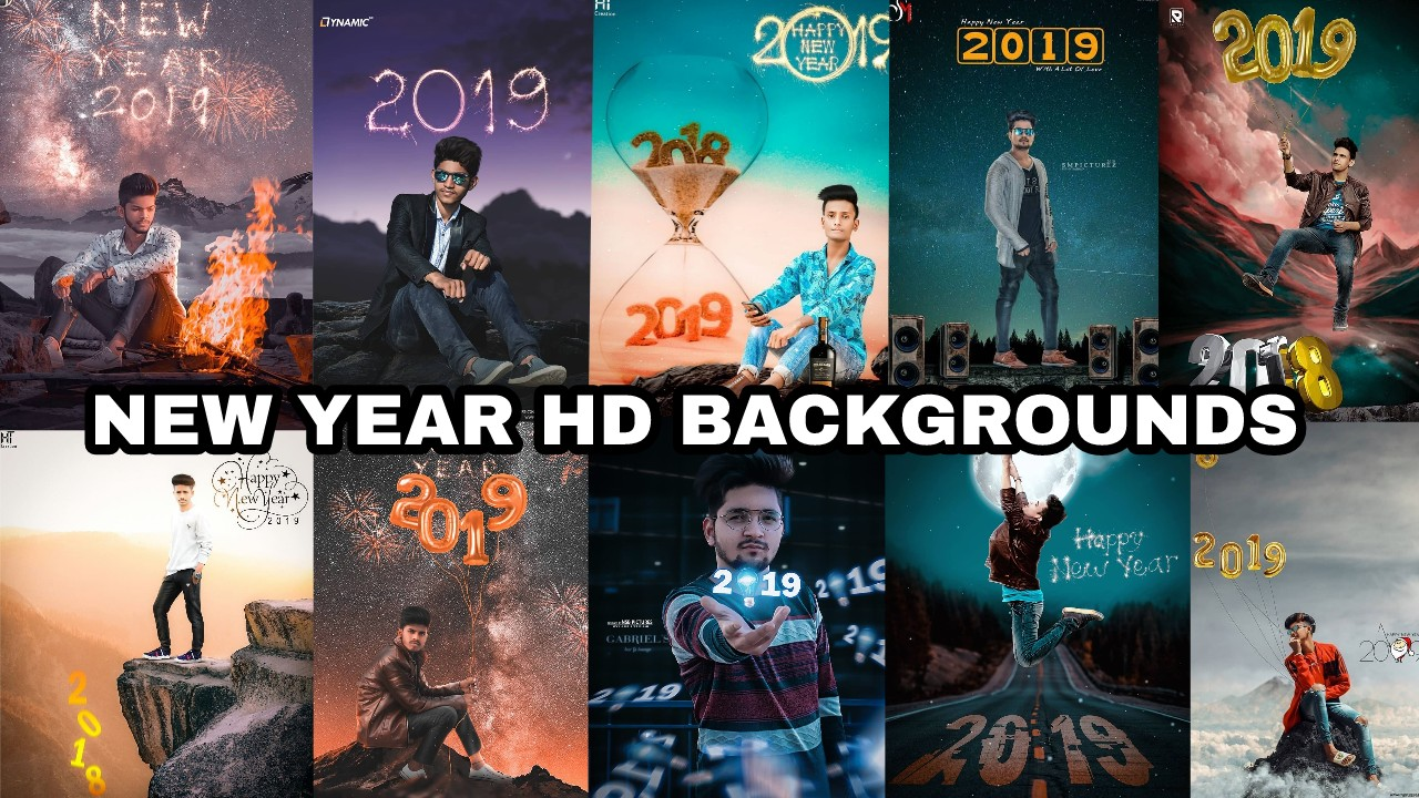 New Year Hd Backgrounds 2019 Royal Editing
