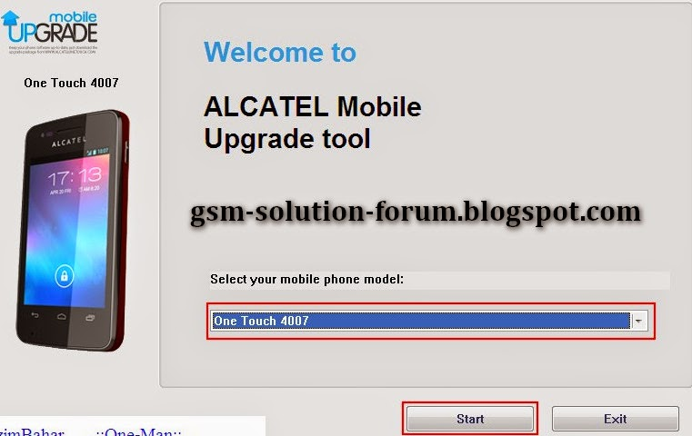 Mobile upgrade s 4 alcatel