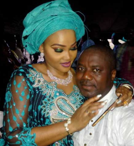 mercy aigbe loves to party