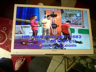 Service Sharp LED TV