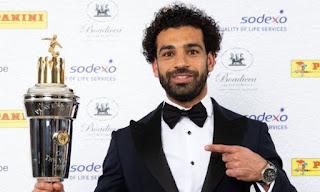 Mohamed Salah Pemain Terbaik (Player of the Year) Asosiasi Pesepakbola Inggris