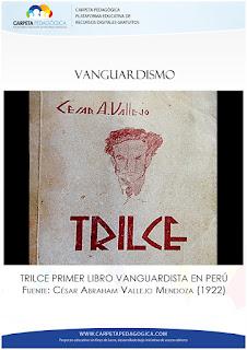 Trilce, primer libro de estilo vanguardista en el Perú.