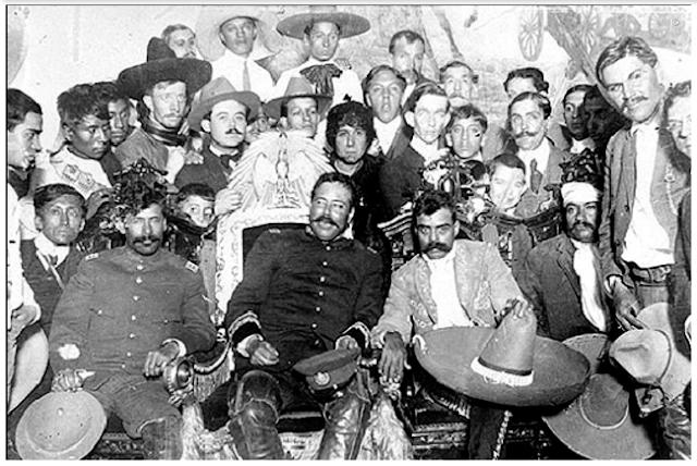 """LA REVOLUCION MEXICANA """"NO FUE COMO la PINTAN""""...caos,confusion y traiciones"""