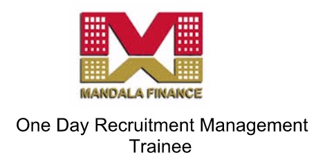 One Day Recruitment Management Trainee