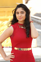 Telugu Actress Zahida Sam Latest Pos in Red Gown at RF Films New Movie Opening  0042.JPG