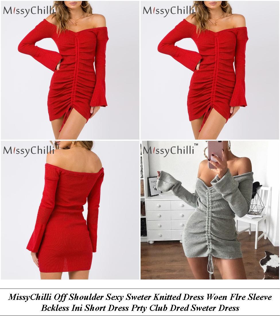 Semi Formal Dresses - End Of Summer Sale - Velvet Dress - Cheap Clothes Online
