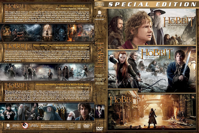 The Hobbit Collection DVD Cover