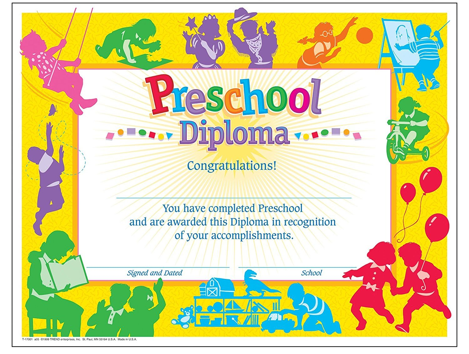 Graduation certificate template for preschool apa templates graduation certificate template for preschool yelopaper
