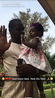 Davido's babymama, Sophia Momodu mourns DJ Olu