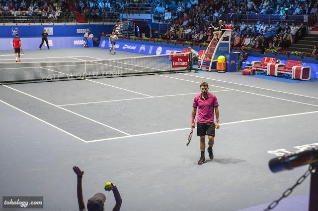 Стэн Вавринка на турнире St. Petersburg Open 2016