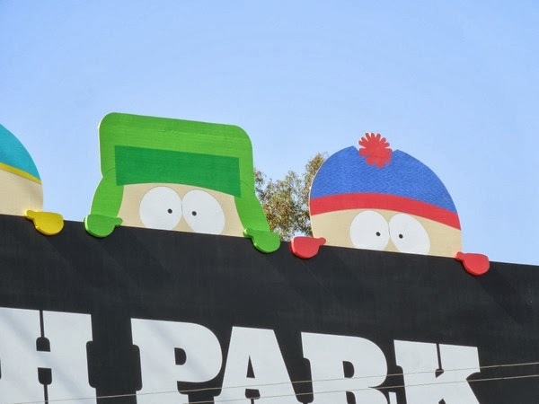 South Park season 17 Kyle and Stan special billboard