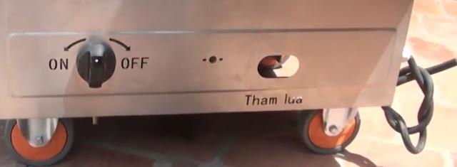 Tủ nấu cơm gas điện 8 khay tại Sài Gòn
