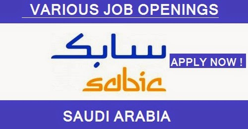 SAUDI BASIC INDUSTRIES CORPORATION JOB OPENINGS   SAUDI ARABIA - JOB