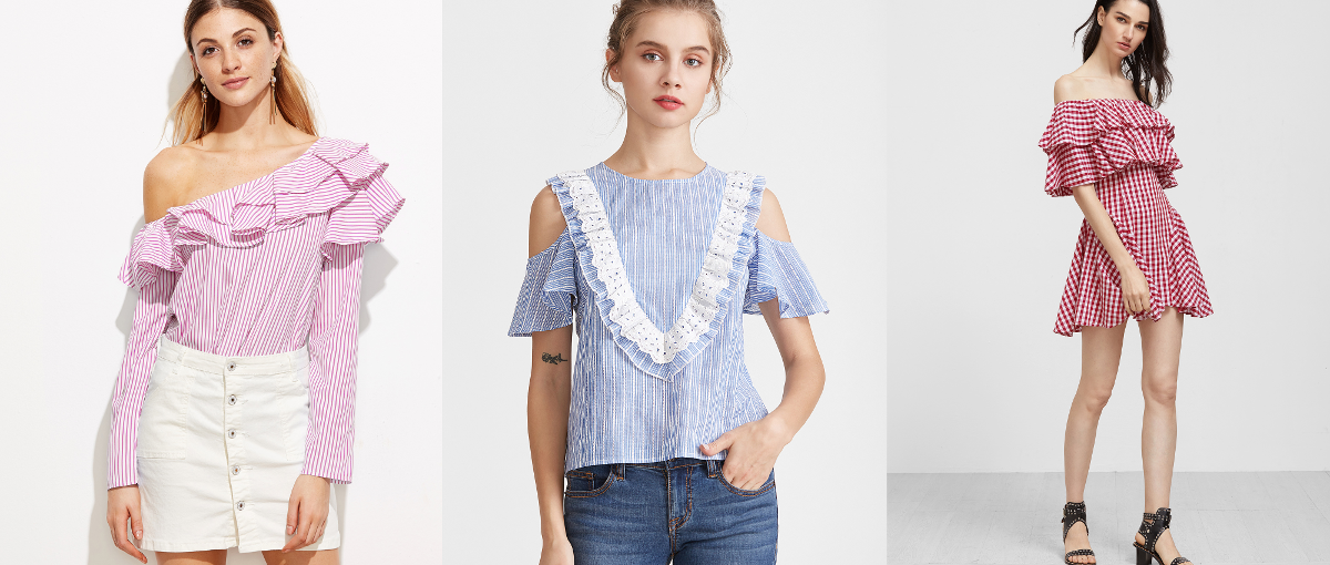 Fashion Trends for Spring 2017 - Ruffles and frills