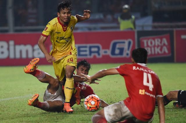 Persija Jakarta vs Sriwijaya FC