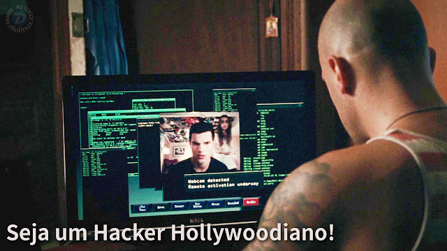 Hacker de Hollywood no Ubuntu