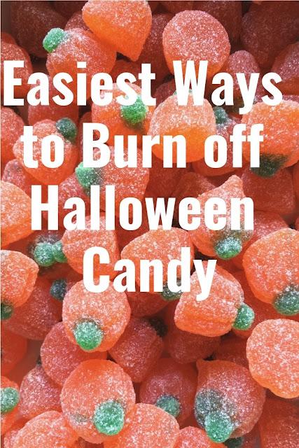 Ways to burn off Halloween Candy
