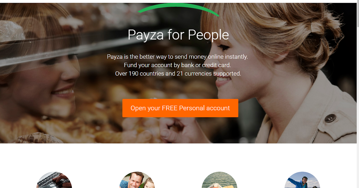 The Payza online payment platform lets you send and receive money