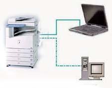 Cara Menghubungkan mesin Fotocopy dengan Komputer - Pesan Copy