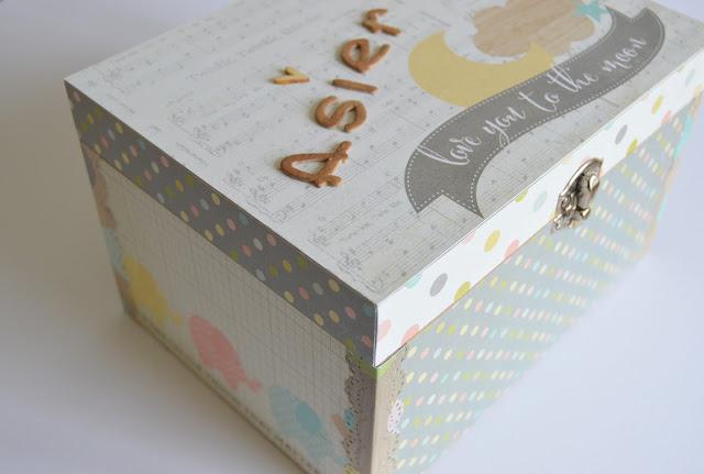 caja recuerdos bebe