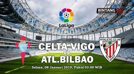 Prediksi Bola Celta Vigo vs Athletic Bilbao 8 Januari 2019