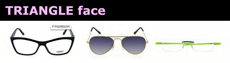 b3bf8aa89 Ak chcete minimalizovať šírku hornej časti tváre, skúste rámy, ktoré sú  širšie v spodnej časti, materiály veľmi svetlej farby a bezrámové okuliare.