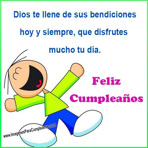 feliz cumpleaños bendiciones