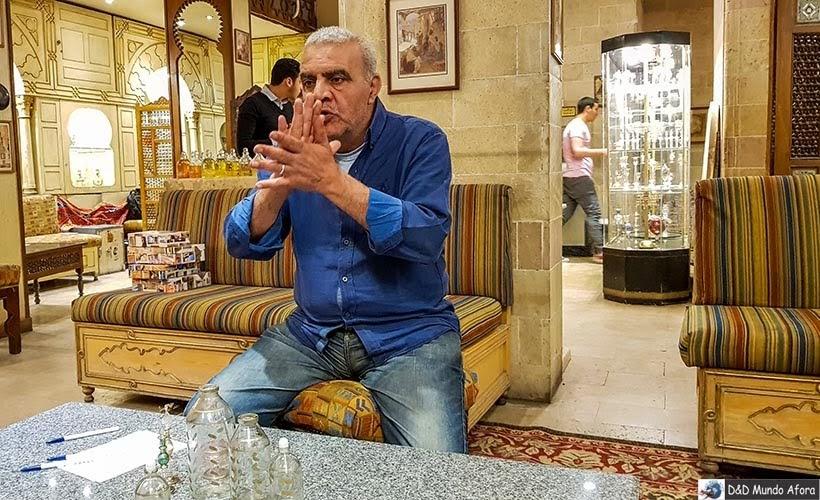 Fábrica de Perfumes - o que fazer no Cairo