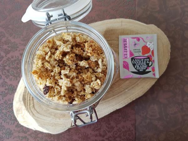 Ma recette de Granola, facile et healthy !