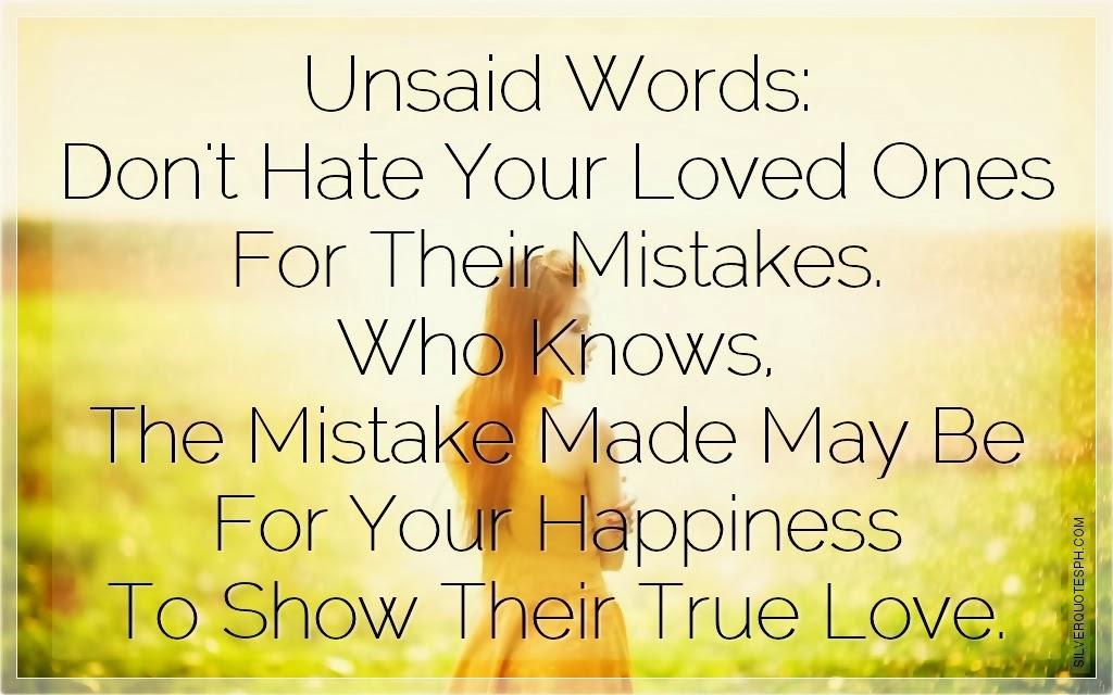 Better Left Un Said Quotes Quotesgram: Words Unsaid Quotes. QuotesGram
