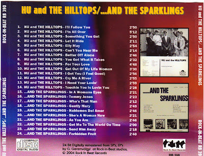 Hu And The Hilltops & The Sparklings (1966-1967)