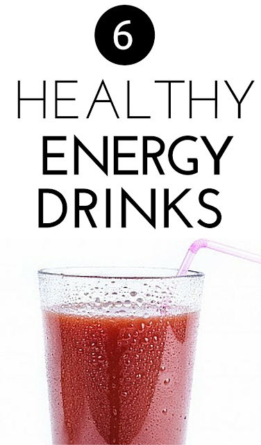 Check out these 6 delicious, super-healthy energy drink recipes to boost your mood and your energy that you can whip up in no time!