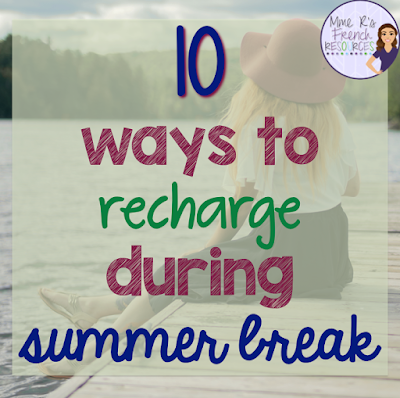 Tips for teachers to recharge and relax during summer break